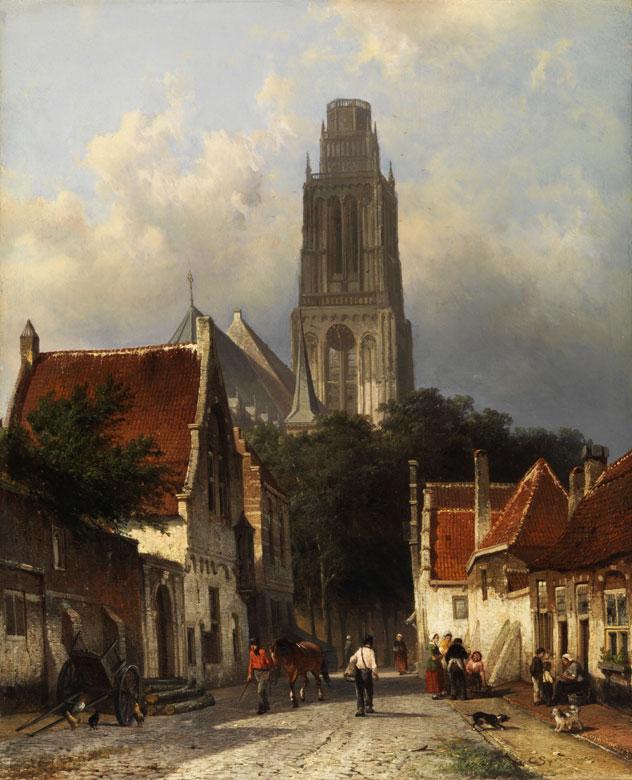 Cornelis Springer, 1817 - 1891