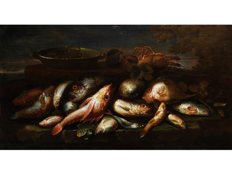 Elena Recco, tätig in Neapel Ende des 17. bis Anfang des 18. Jahrhunderts