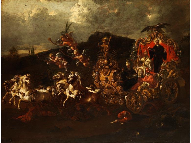 Philipp Peter Roos, Rosa da Tivoli, 1657 Frankfurt - 1706 Rom