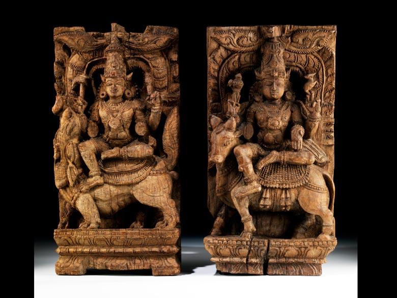 Paar Götterfiguren