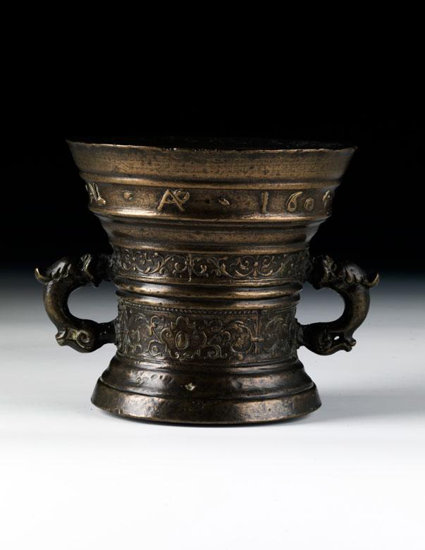 Bronze-Mörser