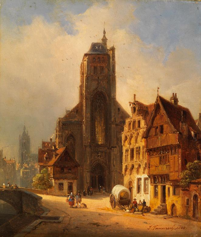 Ivo Ambroise Vermeersch, 1810 Magdalem bei Gent - 1852 München