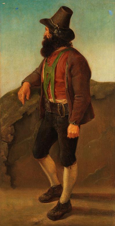Franz von Defregger, 1835 Stronach/ Tirol - 1921 München, Art des