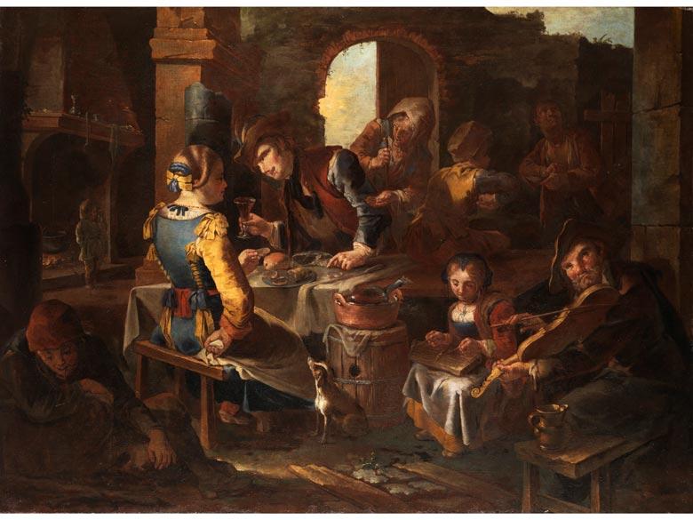 "Giacomo Francesco Cipper, genannt ""Il Todeschini"" 1670 Feldkirch - 1738 Mailand, zug."