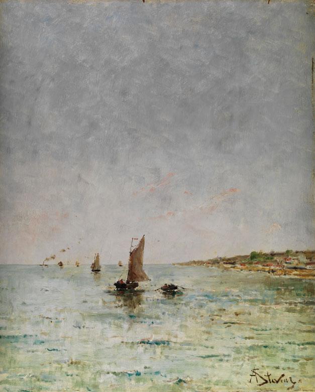 Alfred Stevens, 1823 Brüssel - 1906 Paris