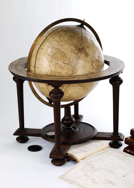 Großer Bibliotheks-Globus
