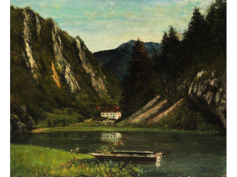 Gustave Courbet, 1819 Ornans - 1877 La Tour de Peilz
