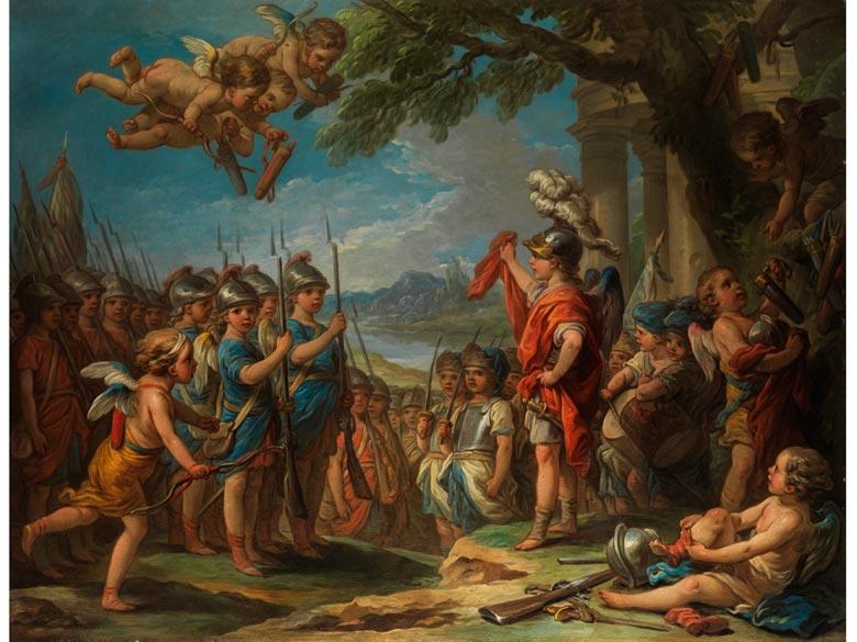 Carle van Loo, 1705 - 1765, Schüler von Boucher