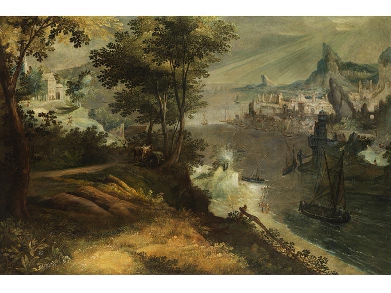 Lucas van Valckenborch, um 1530 - 1597, zug.