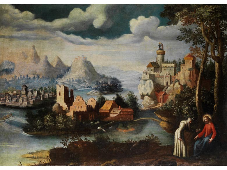 Paul Bril, 1554 Antwerpen - 1626 Rom, Umkreis des
