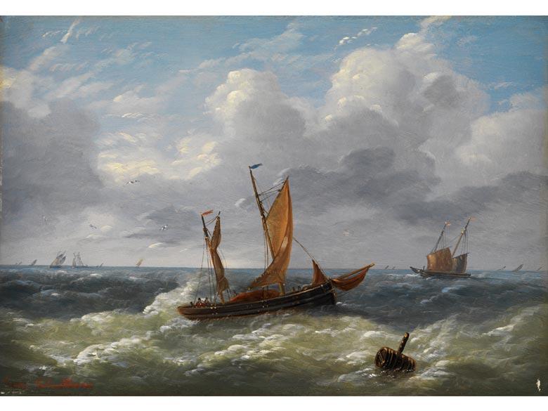 Louis Charles Verboeckhoven, 1802 Warneton - 1889 Brüssel, zug.
