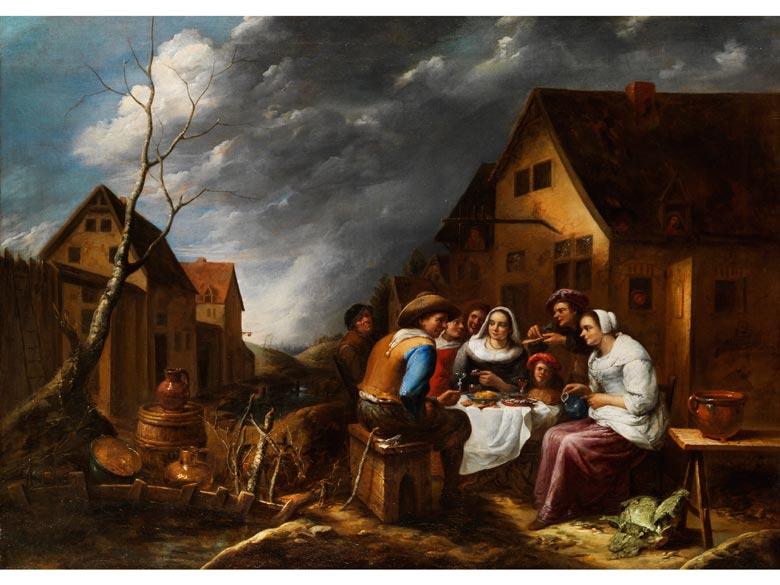 Gillis van Tilborgh, 1635 Brüssel - 1678