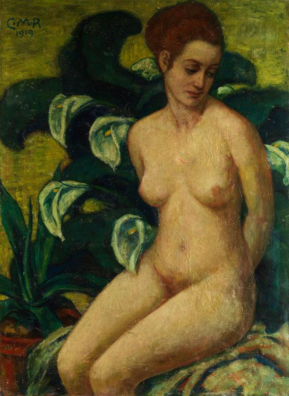 Carl Max Rebel, 1919