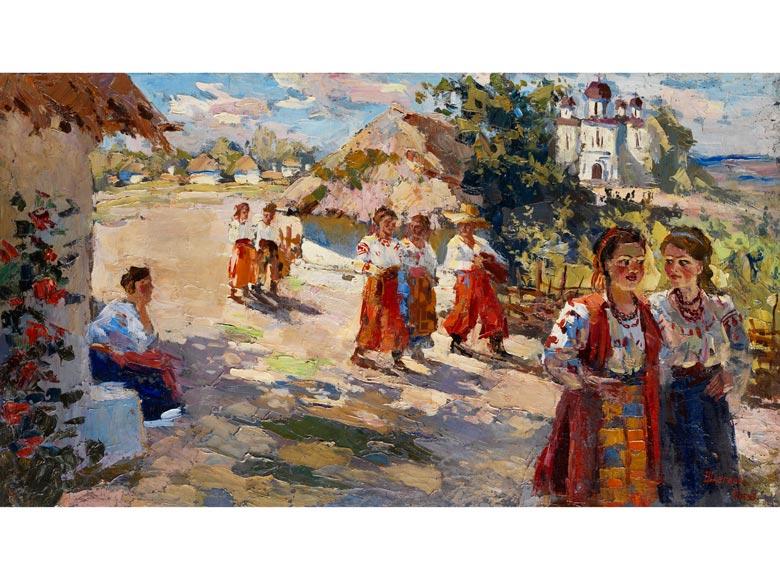 Schlegel, Ukrainischer Maler des 20. Jahrhunderts