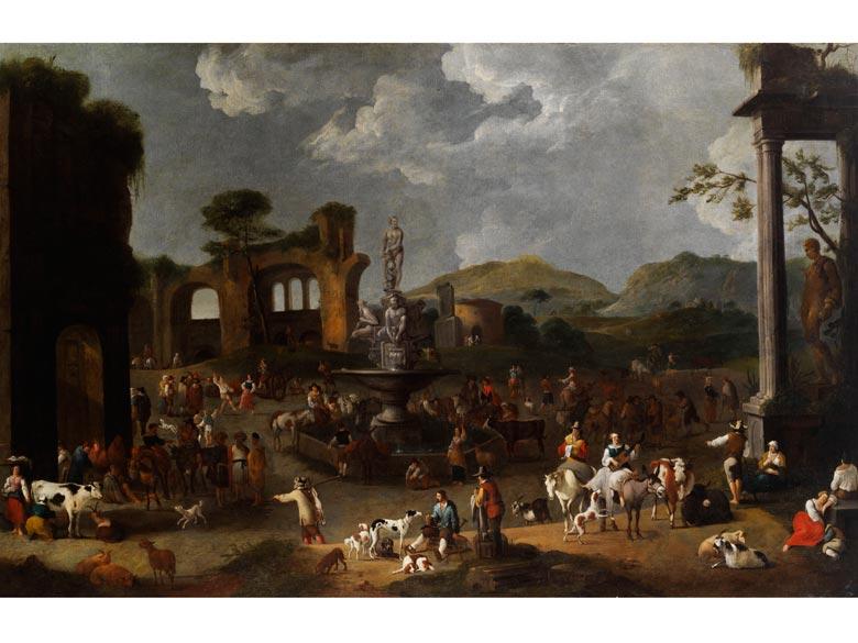 Alexander van Bredael, 1663 - 1720