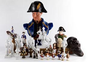 Detail images:  Konvolut von 29 Napoleonika