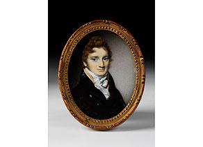 Detail images:  Ovales Miniatur-Portrait