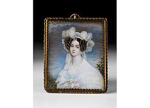 Detail images:  Miniatur-Portrait