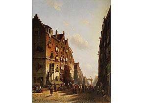 Johannes Franciscus Spohler,1853 Rotterdam - 1894 Amsterdam