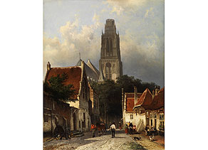 Detailabbildung: Cornelis Springer, 1817 - 1891