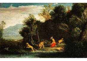 Detail images:  Pier Paolo Bonzi, Il Gobbo dei Carracci, ca. 1578 Rom - 1633 Rom