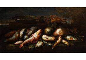 Detail images:  Elena Recco, tätig in Neapel Ende des 17. bis Anfang des 18. Jahrhunderts