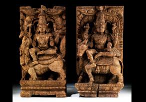 Detail images:  Paar Götterfiguren