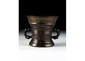 Detail images:  Bronze-Mörser