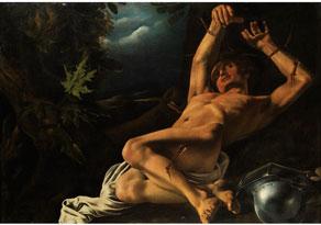 Detailabbildung: Caravaggist des 17. Jahrhunderts