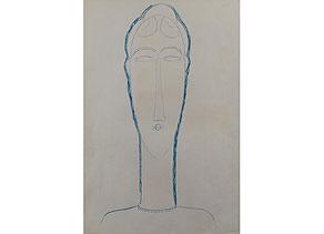 Detail images:  Amedeo Modigliani, 1884 Livorno - 1920 Paris