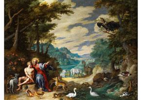 Detailabbildung: Jan Brueghel, der Jüngere, 1601 Antwerpen - 1678