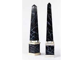 Detail images:  Paar Dekor-Pyramiden