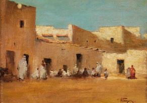 Detail images:  Alexei Vasilievitch Hanzen, 1876 Odessa - 1937