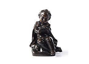 Detail images:  Bronzefigur