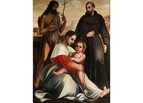Detail images:  Italienischer Maler des 16. Jahrhunderts