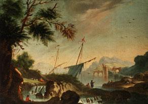 Detail images:  Italienischer Maler des 18. Jahrhunderts in Nachfolge von Vernet