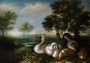 Roelandt Savery,1576 - 1639, zug.