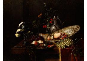 Juriaen van Streeck,1632 - 1687, zug.