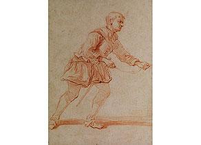 Detail images:  Jean Antoine Watteau, 1684 - 1721