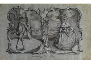 Detail images:  Johann David Nessenthaler, 1717 - 1766 Augsburg