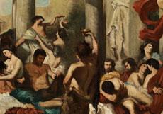Detail images: Thomas Couture, 1815 Senlis - 1879 Villiers-le-Bel, Umkreis