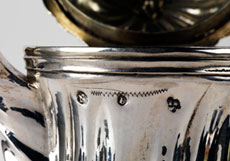 Detail images: Silberkanne