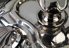 Detail images: Paar Kammerleuchter