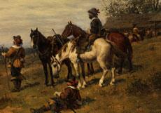 Detail images: Ludwig Gedlek, 1847 Krakau - 1904
