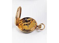 Detail images: Patek Philippe Geneve Herrentaschenuhr Gold 18 Kt