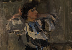 Detail images: Isaac Lazarus Israels, 1865 Amsterdam - 1934 Den Haag