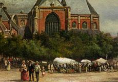 Detail images: Elias Pieter van Bommel, 1819 Amsterdam - 1890 Wien