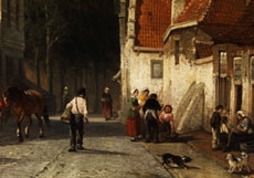 Detail images: Cornelis Springer, 1817 - 1891