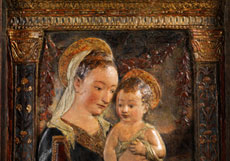Detail images: Antonio Rossellino, 1427 - 1479, zug.