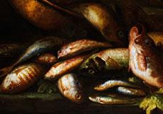 Detail images: Elena Recco, tätig in Neapel Ende des 17. bis Anfang des 18. Jahrhunderts.